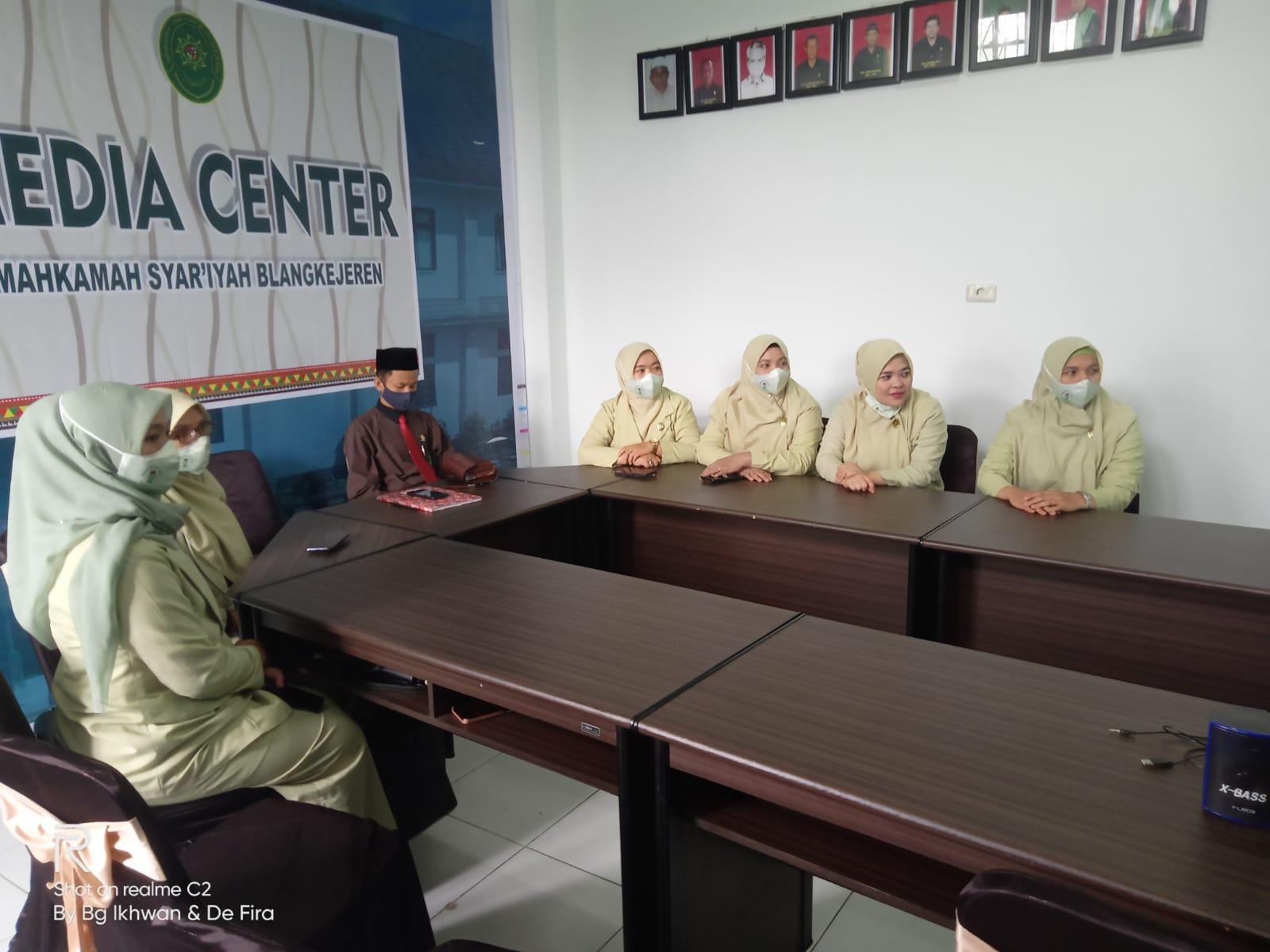 Dharmayukti Karini Cabang Blangkejeren Mengikuti HUT ke XIX Tahun 2021 Secara Virtual